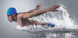Open Water Swimming Sport Aerob Trening Endurance PNG