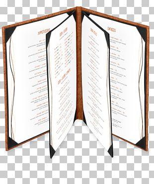 Restaurant Hotel Book Menu PNG