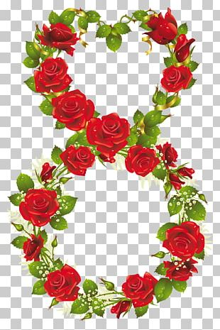 Rose March 8 International Women's Day Flower PNG