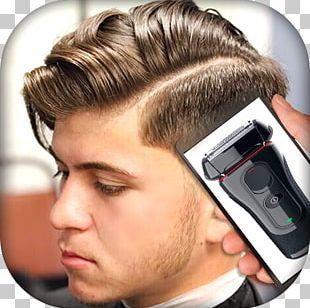 Regular Haircut Hairstyle Hi-top Fade Comb Over Pompadour PNG
