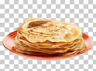 Pancake On Plate PNG
