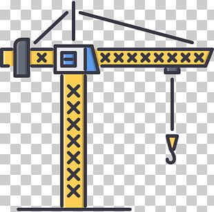 Architectural Engineering Building Heavy Machinery Crane Tool PNG