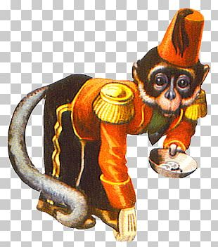 Circus Monkey PNG