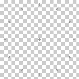 Circle Black And White Line Point Angle PNG