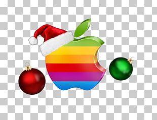 Logo Apple Christmas Icon PNG