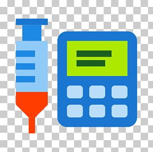 Infusion Pump Computer Icons Intravenous Therapy PNG