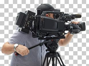 Camera Operator Teleprompter Broadcasting Video Cameras PNG
