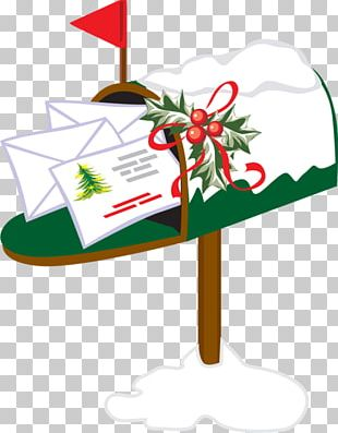 Christmas Letter Box Post Box PNG