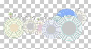 Housing Circles Background Material PNG
