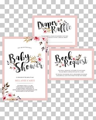 Wedding Invitation Baby Shower Bridal Shower Party PNG