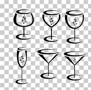 Red Wine Champagne Glass Wine Glass PNG