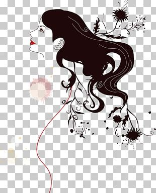 Silhouette Woman PNG