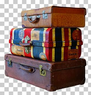 Suitcase Baggage Travel Vacation PNG