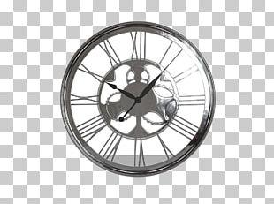Wall Clocks Furniture Horlonge Ronde 60 Cm En Bois Bleu Horloge Ronde 80 Cm En Bois Et Métal Gris PNG