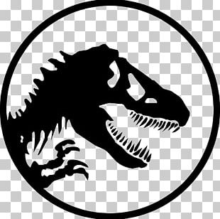 YouTube Jurassic Park Logo Silhouette PNG