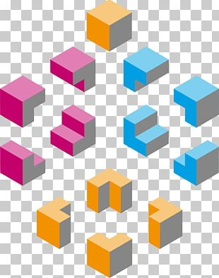 Shape Rectangle Isometric Projection Cube PNG