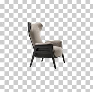 Eames Lounge Chair Furniture Couch Wing Chair PNG