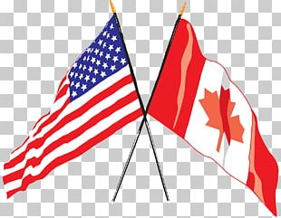 Flag Of The United States Flag Of Canada Canadian Americans PNG