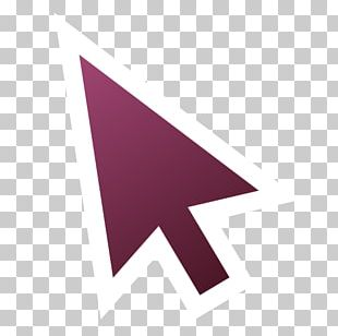 Triangle Purple Line PNG