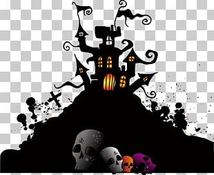 Wedding Invitation Halloween Party Poster PNG