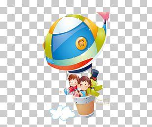 Cartoon Child Balloon PNG