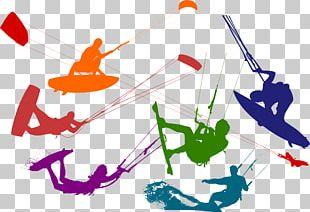 Kitesurfing Leading Edge Inflatable Kite Kite Landboarding PNG