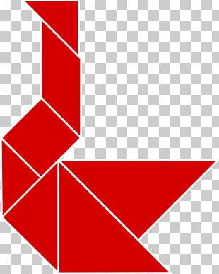 Tangram Geometric Shape Game Triangle Duck PNG