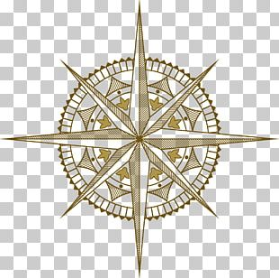 Wind Rose Compass Rose PNG