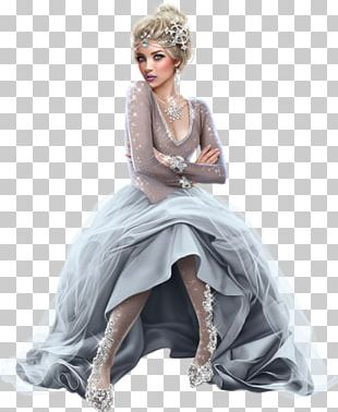Woman Queen Of Hearts Winter Female Dress PNG