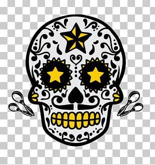 Calavera Skull Halloween PNG