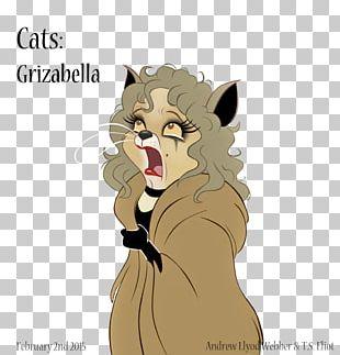 Cats Grizabella Whiskers Fan Art PNG