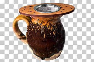 Coffee Cup Ceramic Pottery Artifact PNG
