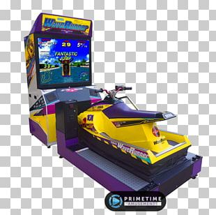 WaveRunner Sega Rally Championship Golden Age Of Arcade Video Games Arcade Game PNG
