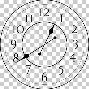 Quartz Clock Living Room Bedroom PNG