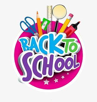 Back To School Cartoon PNG
