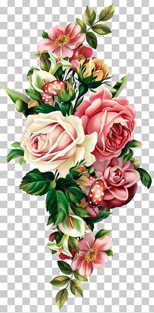 Floral Design Flower Bouquet Drawing PNG
