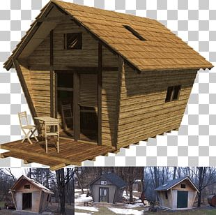 Log Cabin House Plan Cottage Architectural Structure PNG
