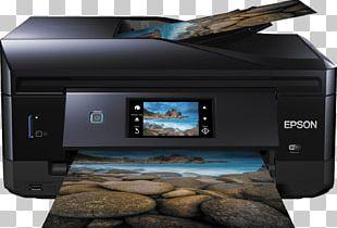 Multi-function Printer Epson Expression Photo XP-860 Epson Expression Premium XP-820 Printing PNG