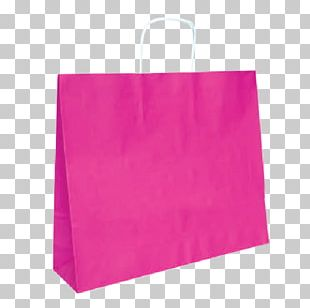 Paper Bag Pink Shopping Bags & Trolleys PNG
