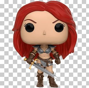 Red Sonja Conan The Barbarian Funko Action & Toy Figures PNG