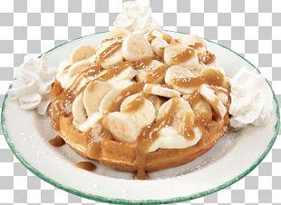 Belgian Waffle Cream Breakfast Custard PNG