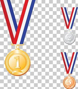 Gold Medal Silver Medal PNG