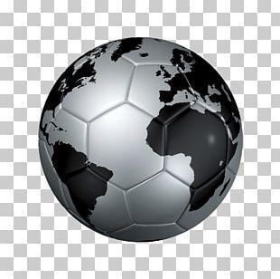 Globe Football World Map Stock Photography PNG