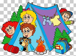 Camping Summer Camp Child PNG