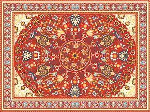 Persian Carpet Flooring PNG