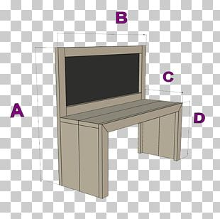 Table Steigerplank Furniture Blackboard Drawing PNG