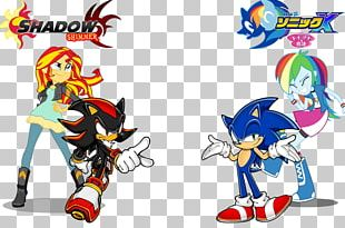 Sonic Heroes Sunset Shimmer Shadow The Hedgehog Rainbow Dash Sonic & Knuckles PNG