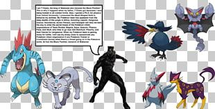 Black Panther Honchkrow Pokémon Horse Persian PNG