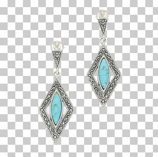Turquoise Earring Body Jewellery Locket Emerald PNG