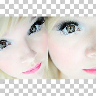 Caffè Macchiato Cafe Circle Contact Lens Contact Lenses Eyelash Extensions PNG